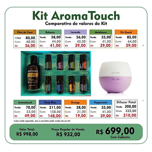 Kit Aroma Touch
