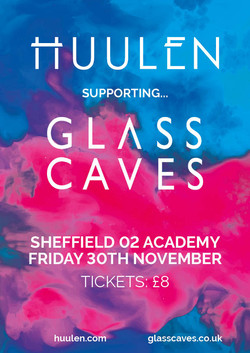 Huulen Glass Caves Poster