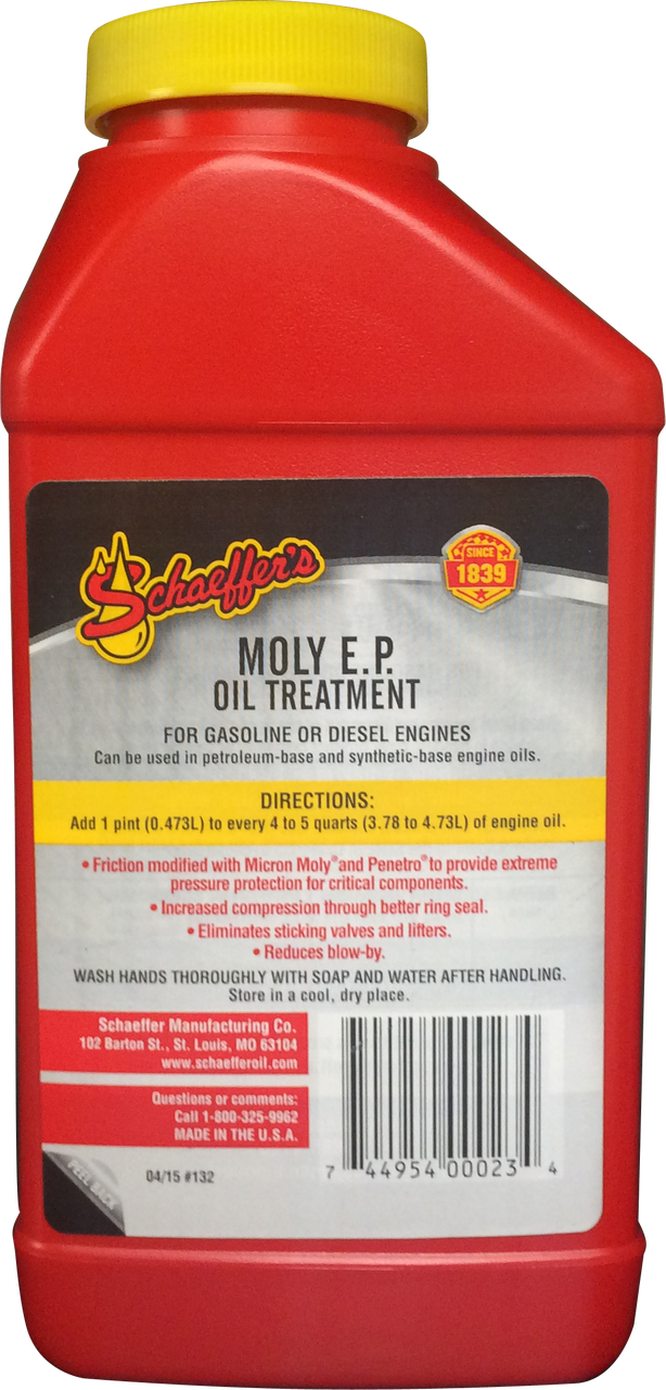 5 pack Moly EP Oil Treatment