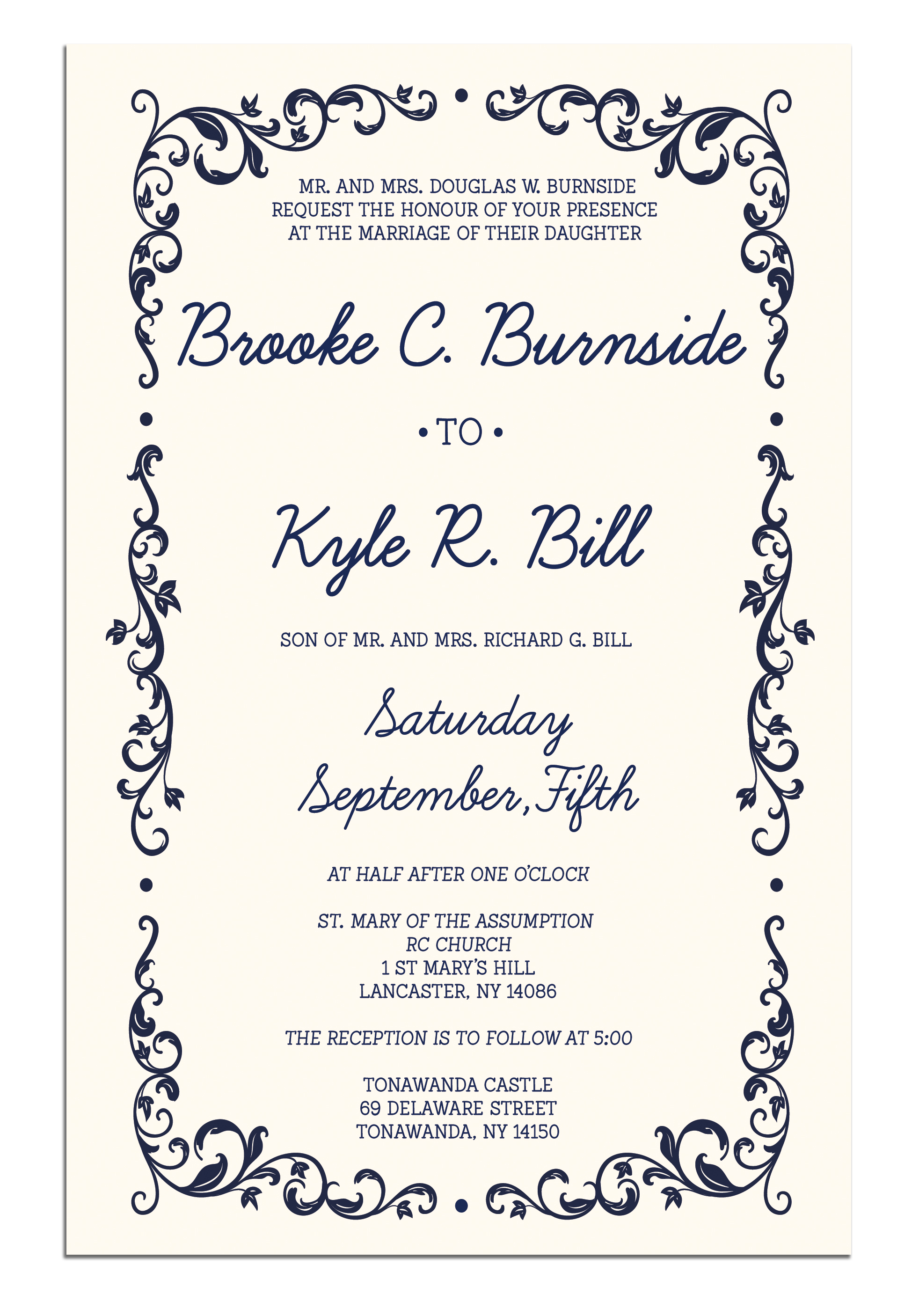 Brooke and Kyle Invitation