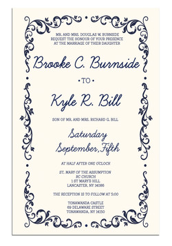 Brooke and Kyle Invitation