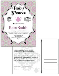 Kara's baby shower