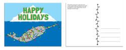 narwhal holiday card