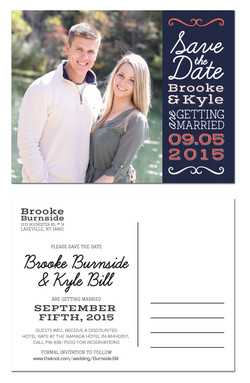 Brooke and Kyle Save the Date
