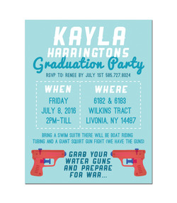 Kayla is graduating