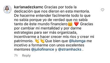 Karla IG Comment.png