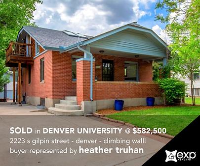 2223 s gilpin street Denver - Denver University - Heather Truhan