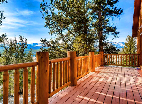 Under Contract in Fairplay - Bjorn's Cabin - Views of Mosquito Range - 30 Min South of Breck!