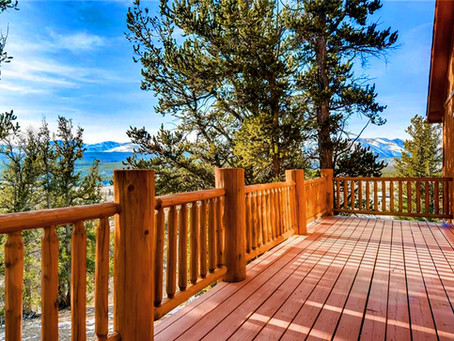 SOLD in Fairplay - Bjorn's Cabin - Views of Mosquito Range - 30 Min South of Breck!