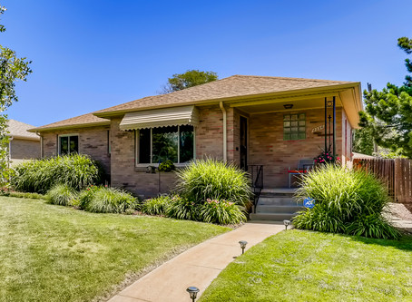 Under Contract in Park Hill - 5 Bed/2 Bath Remodel with Covered Patio