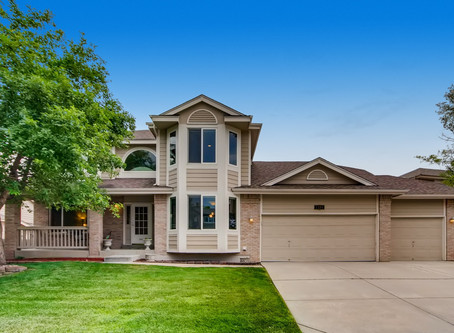 SOLD at $630K in Littleton - Updated 5BR/4BA Home with Open Layout in Woodbourne Community