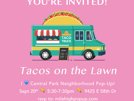 Tacos on the Lawn - I Heart Central Park Neighborhood Pop-Up