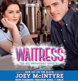 Joey M, Lucie Jones  Waitress