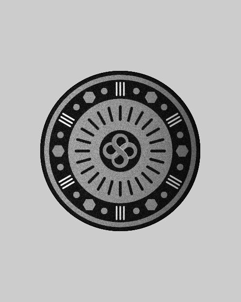 Headshot emblem