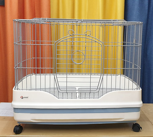 83cm Dayang wire base pullout tray cage with wheels