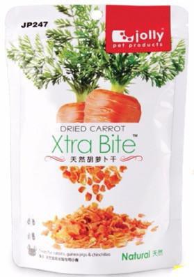 Jolly Dried Carrot Treats Xtra Bite (120g)