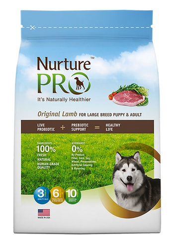 NurturePro Original Lamb For Large Breed Puppy and Adult