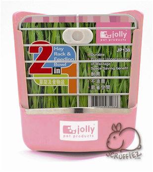 Jolly 2 in 1 Hay Rack Food Bowl