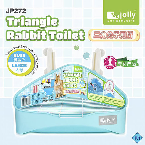 Jolly Triangle Large Rabbit Toilet