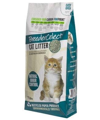 Breeder Celect Reycled Paper Cat Litter (30 L)