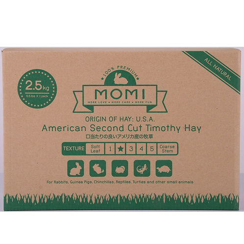 2.5kg/10kg MOMI 2nd Cut Timothy Hay