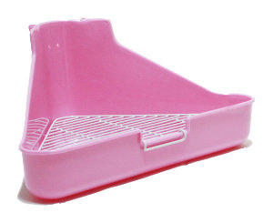 Triangle Potty Pink / Turqoise