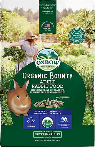 3lbs Oxbow Organic Bounty - Adult Rabbit Food