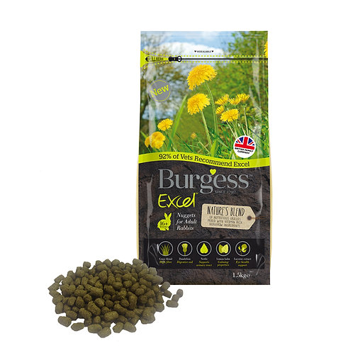 Burgess Excel Excel Nature's Blend 1.5kg
