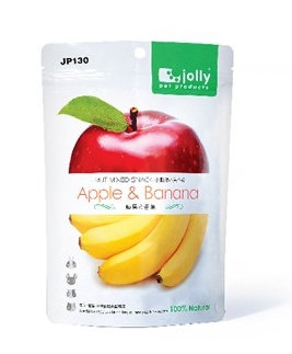 Jolly Dried Apple & Banana Treats (30g)