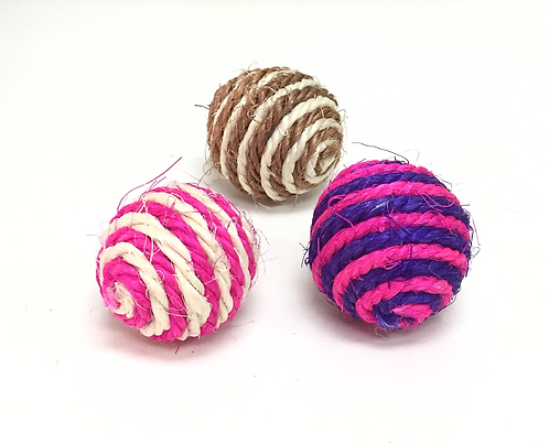 Sisal Balls Assorted