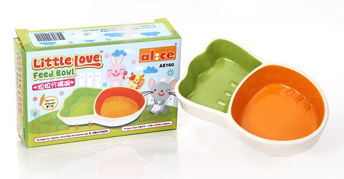 Alice Carrot Shaped Bowl Big/ Small