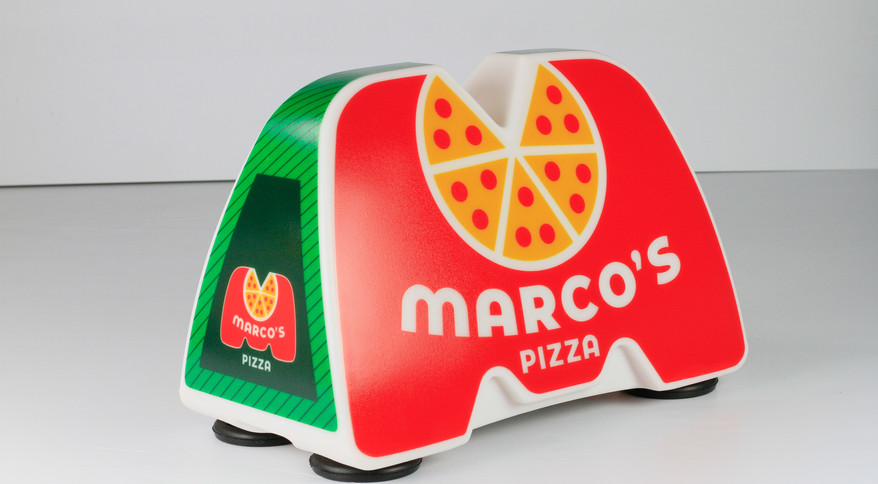 Marco's Pizza Car Topper