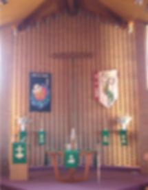 Sanctuary with Tau Cross