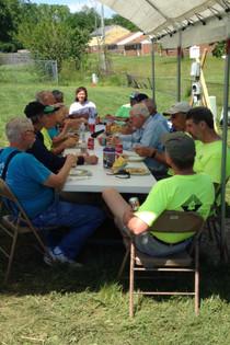 Habitat - lunch break