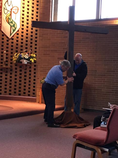 Holy Week - Raising the Cross