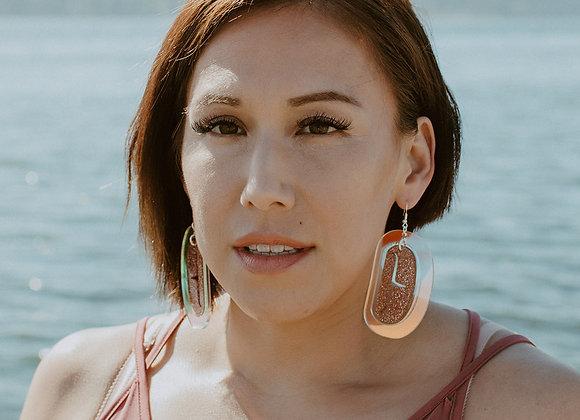Shimmer Glam Kakawin Qqs Earrings