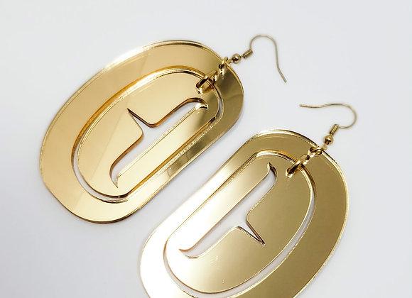 Golden Kakawin Qqs on Hooks