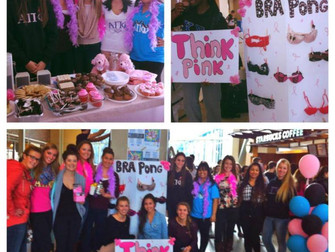 BRA PONG – THINK PINK PHILANTHROPY FOR THE CANADIAN BREAST CANCER FOUNDATION