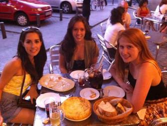 Melissa in Spain