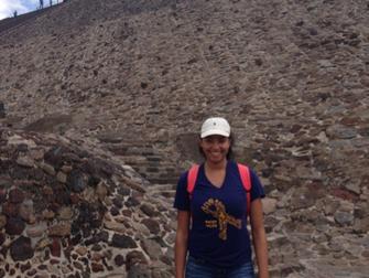 Nicole in Mexico