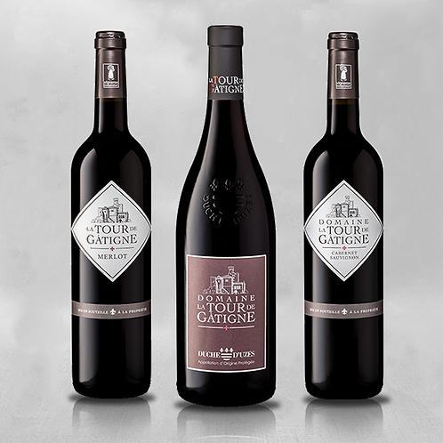 Degustatiepakket rode wijnen