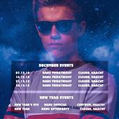December events - DJ Nanu