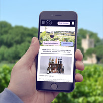 Mobile friendly dvcWines.be