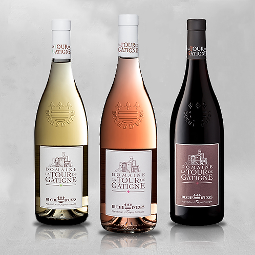 Degustatiepakket Duché D'Uzès - Wit, Rosé en Rood