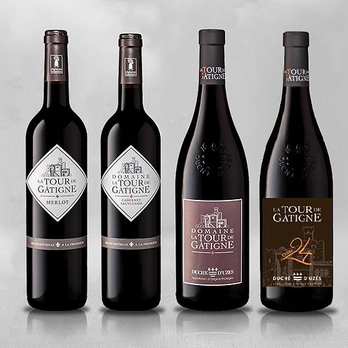 Degustatiepakket rode wijnen XL