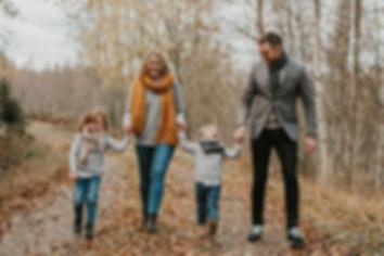 Familjfoto Hudiksvall