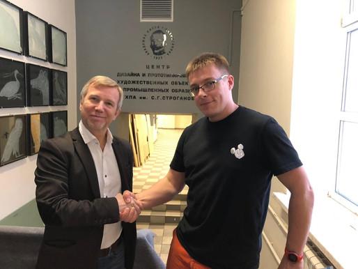 Встреча Андрея Ордина и Кирилла Чебурашкина