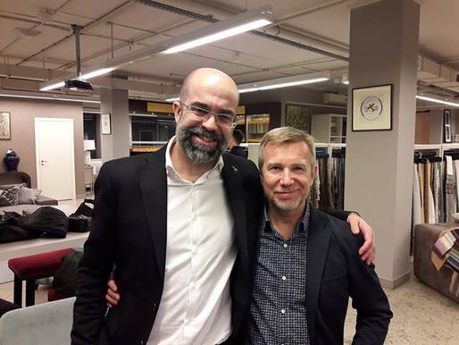 """Андрей Ордин, продюсер Фестиваля """"Отлично!"""" посетил Ассоциацию Специалистов Предметного Дизайна"""