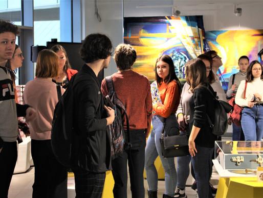Важной частью II Выставки лучших выпускников-дизайнеров «Отлично!» 2019 года стала экспозиция работ.