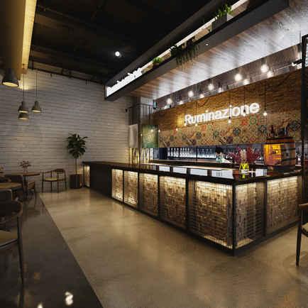 Coffee Shop and Bar